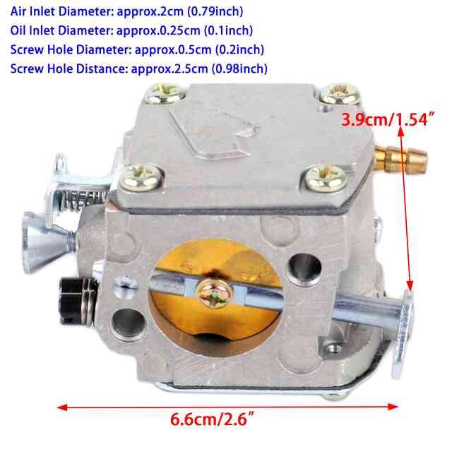 Топливная система триммера хускварна. регулировка хускварна. ограничение максимальных оборотов